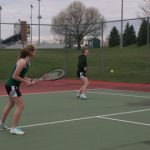 Westfield Girls JV Tennis ties Noblesville 5-5