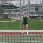 Westfield Girls Varsity Tennis drop match to Noblesville 4-1
