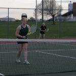 Girls JV Tennis beat University High School 4-0