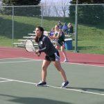 Westfield Girls Varsity Tennis falls to HSE 5-0