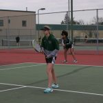Westfield Girls JV Tennis falls to Center Grove 0-9