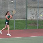 Westfield Girls Varsity Tennis falls to Center Grove 1-4