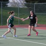 Westfield Girls Varsity Tennis beat Lapel 4-1