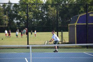 Boys Tennis – Guerin Scrimmage, 8/10/17