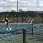 Varsity Tennis falls to Zionsville High School 3-2