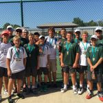 Varsity Tennis finishes 1st place in SB St. Joseph Invite