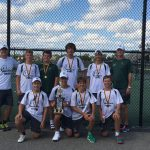 Boys Tennis finishes 1st place