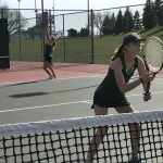 Girls Varsity tennis defeat Lawrence Central 4-1