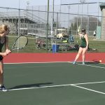 Girls JV tennis defeat Lawrence Central 5-1