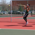 Girls Varsity Tennis falls to Brownsburg 5 – 0