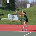 Girls Junior Varsity Tennis falls to Fishers 8 – 4