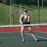 Girls Varsity Tennis falls to Fishers 3 – 2