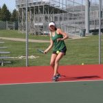 Girls Varsity Tennis beats Lebanon 3 – 2