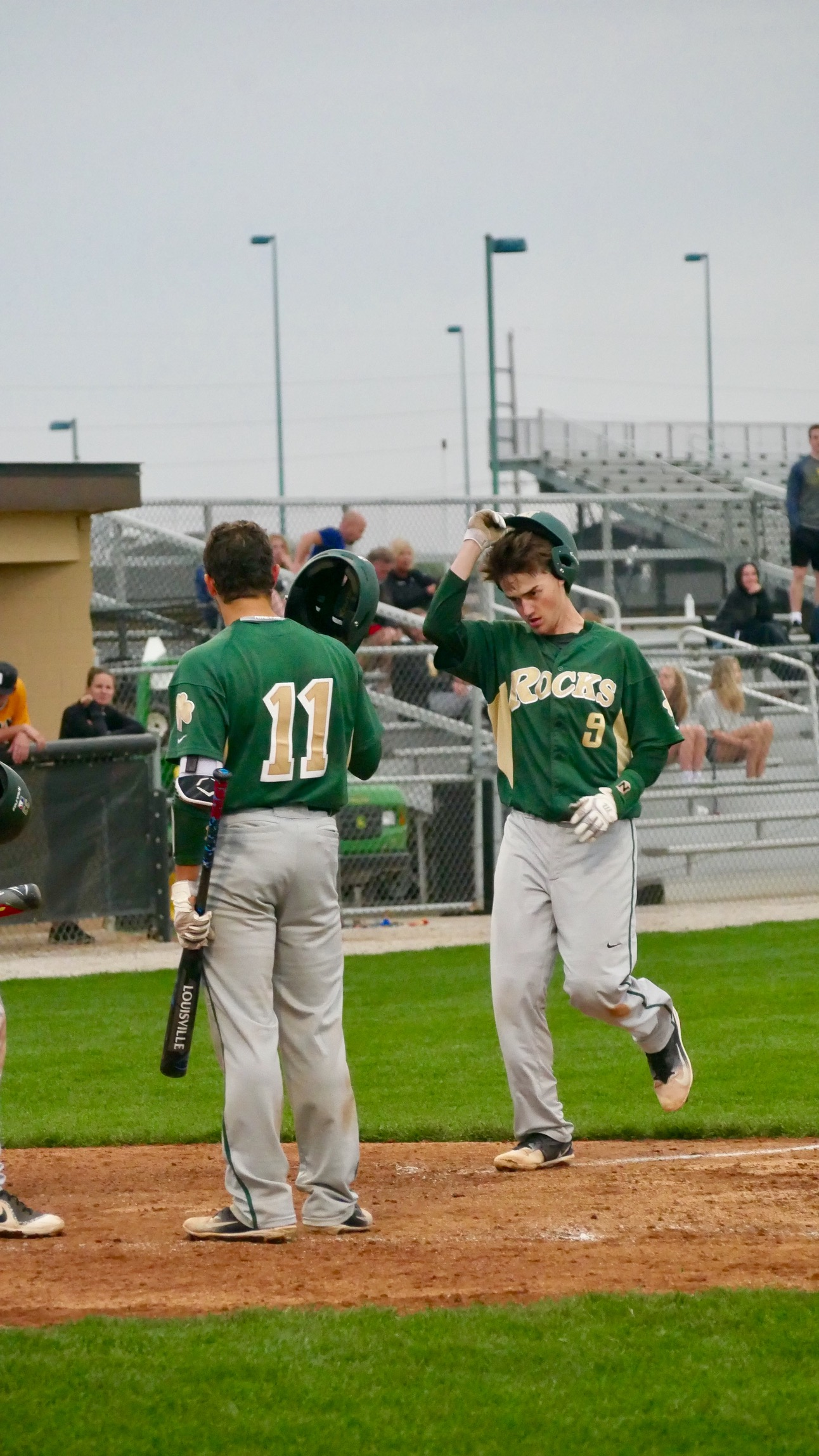 Rocks Dig Early Hole, Fall to Orioles 6-3 in First Game of HCC Series