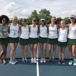 Girls Varsity Tennis falls to Carmel 5 – 0