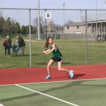 Girls Varsity Tennis beats Noblesville 3 – 2