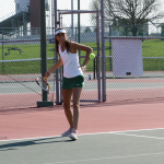 Girls Varsity Tennis falls to Harrison 3 – 2