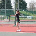 Girls Junior Varsity Tennis beats Greenwood 12 – 2