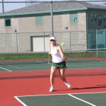 Girls Junior Varsity Tennis beats Fishers 9 – 5