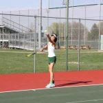 Girls Varsity Tennis falls to Franklin Central 4 – 1