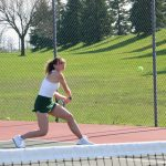Girls Junior Varsity Tennis falls to Cathedral 7 – 6
