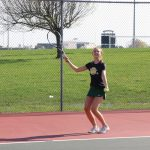 Girls Junior Varsity Tennis beats Bishop Chatard 5 – 4