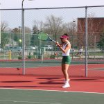 Girls Varsity Tennis falls to Park Tudor School 0-5