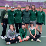 Girls JV Tennis finishes 2nd place at JV Brownsburg Invite