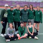 Girls JV Tennis finishes 2nd place at JV Brownsburg Invite
