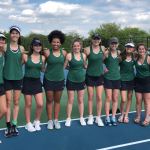 Westfield Girls Tennis falls to Carmel 0-5 in Sectionals
