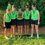 Girls Varsity Golf finishes 1st place at Hamilton Co Tournament