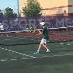 Boys Varsity Tennis beats Brownsburg 4 – 1