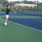Varsity Tennis beats Noblesville 5 – 0