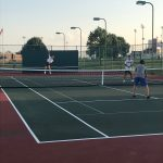 Boys Varsity Tennis beats Franklin Central 5 – 0