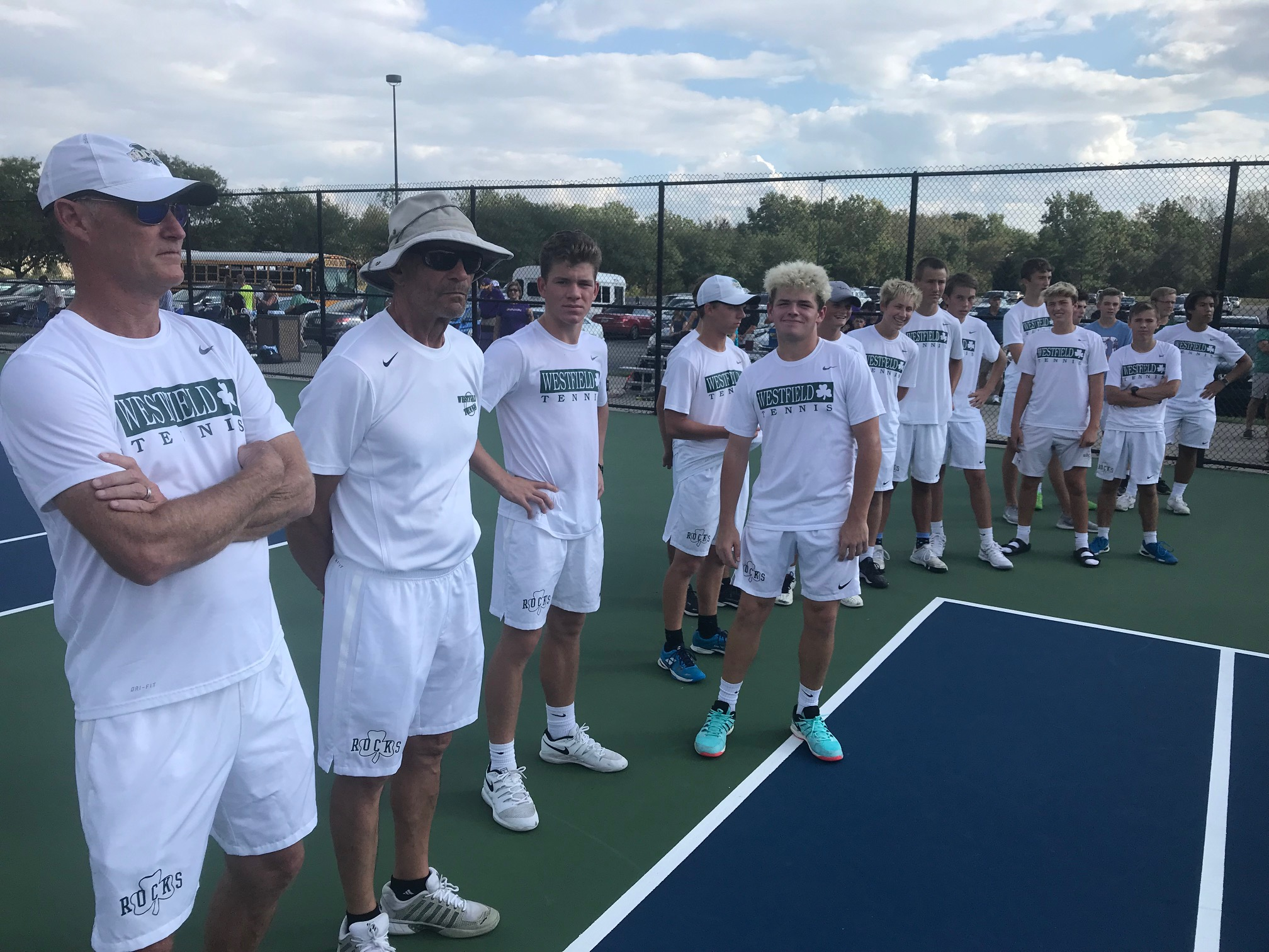 Boys Varsity Tennis falls to Carmel 5 – 0