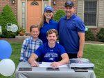 Eli Patchett Commits to St. Fancis; Awarded Varsity Blanket