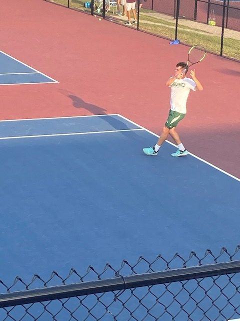 Varsity Tennis beats Guerin Catholic 4 – 1