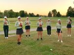 Girls Varsity Golf finishes 2nd place at Sectional