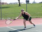 Westfield Girls JV Tennis defeat Brownsburg 12-0