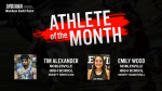 And the Indiana Members Credit Union February Athlete of the month is…