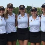 Adams High School Girls Varsity Golf finishes 4th place