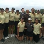 Adams High School Girls Varsity Golf finishes 5th place