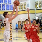 Boys Hoops Falls Short