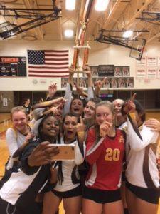 Adams JV Volleyball Team is Fenton Tournament Champion!