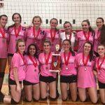Adams Varsity Volleyball Champions of Frankenmuth Invite