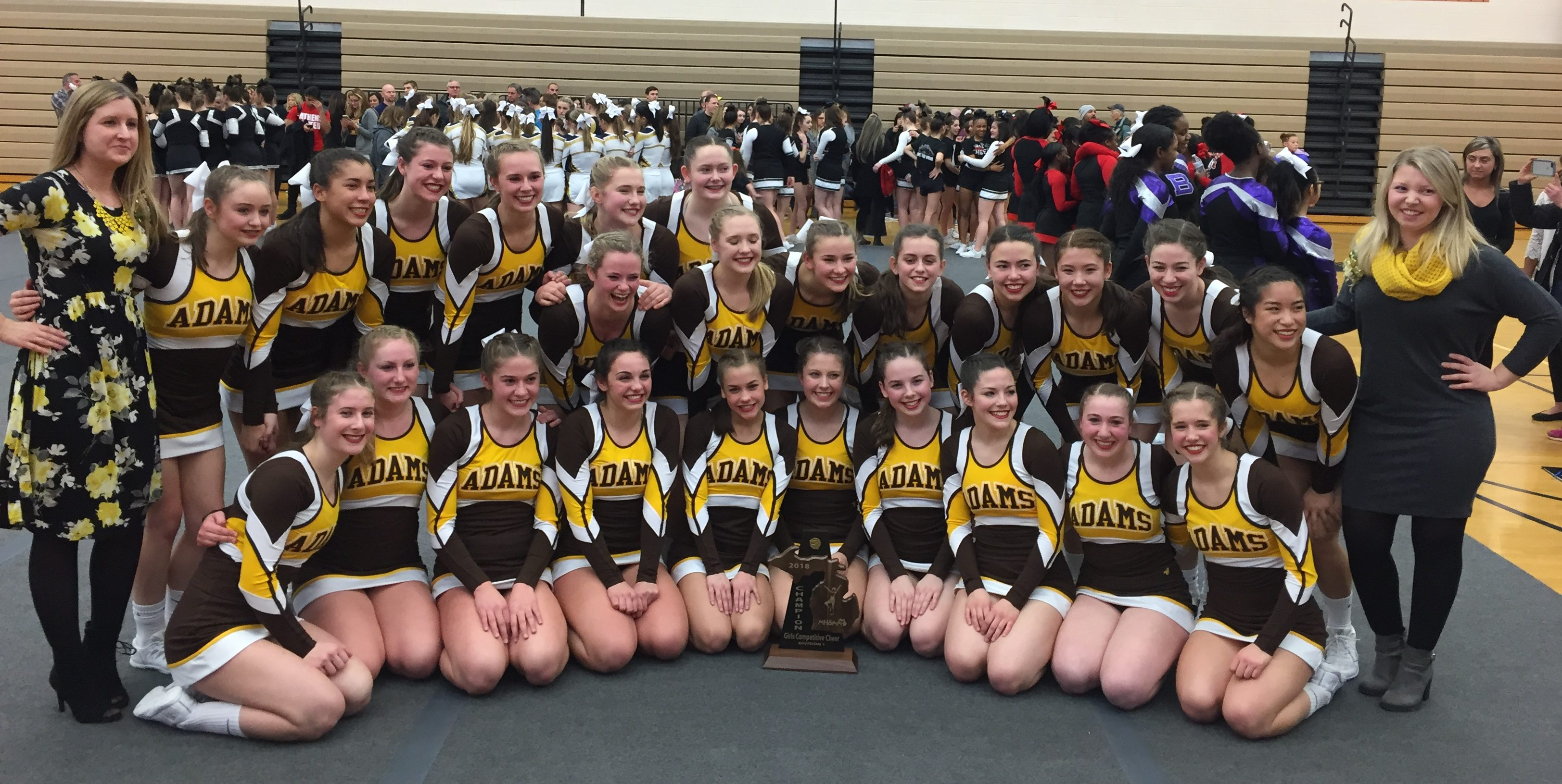 Cheer Wins First District Title