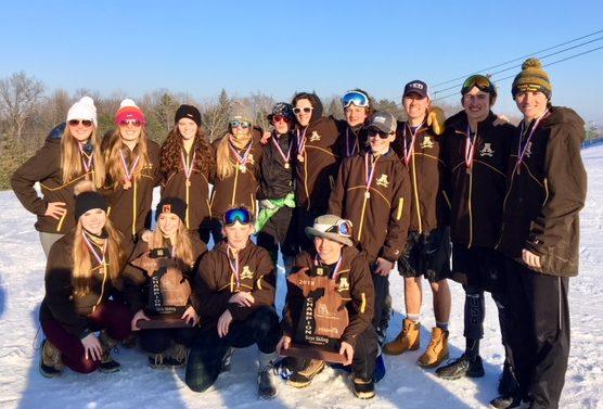 Ski Teams Win Regionals