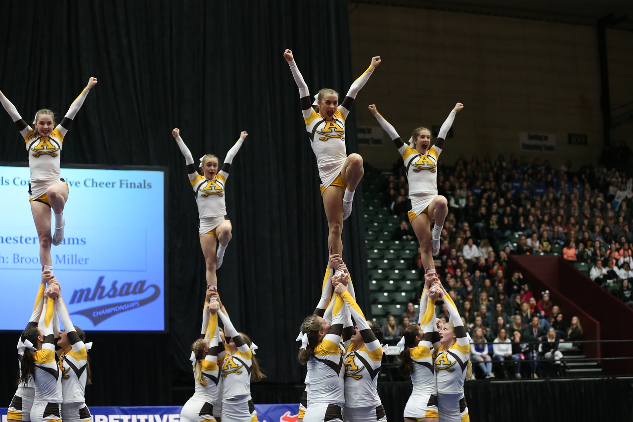Competitive Cheer Finishes as State Runner-up