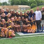 Soccer Wins District Title Thriller