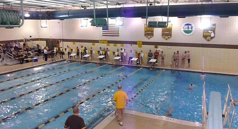 Girls Swim/Dive 3rd at County Meet